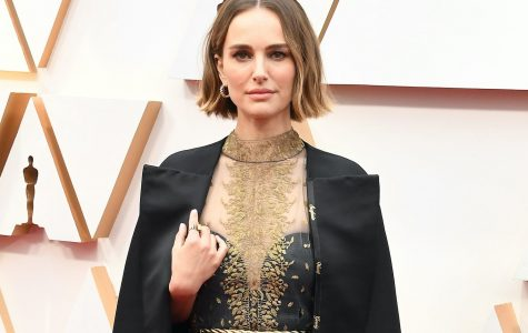 Natalie Portman's cape she wore to the Oscars along with her dress featured the names of eight female directors embroidered on one side