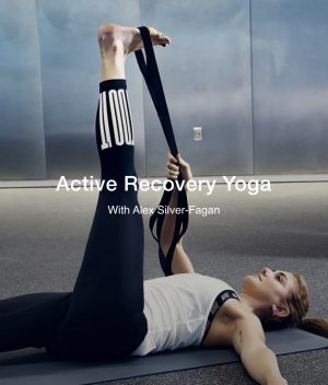 Try This Active Recovery Yoga To Help De-stress